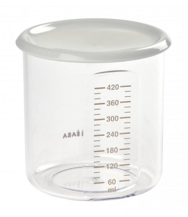 Beaba Maxi Portion Tritan Grijs 420 ml
