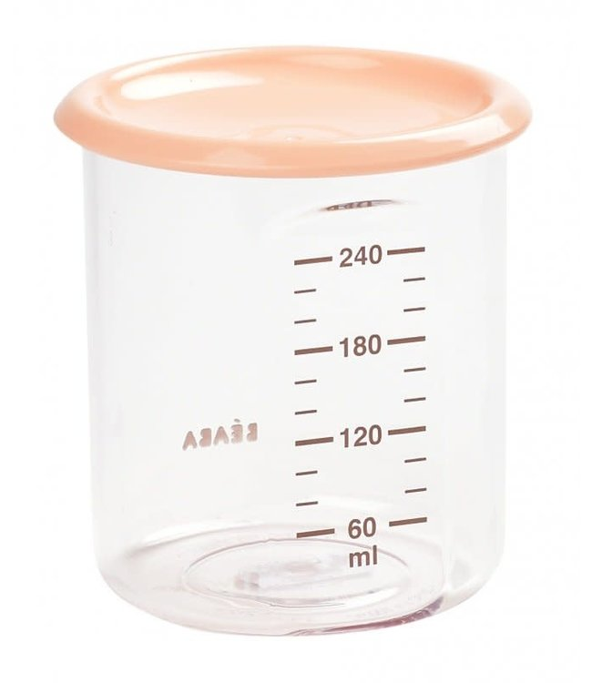 Beaba Maxi Portion Tritan 240 ml Nude