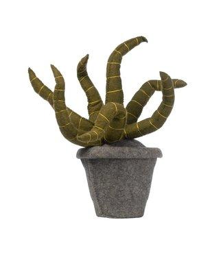 Kidsdepot Groene Vilten Deco Plant Sanseveria
