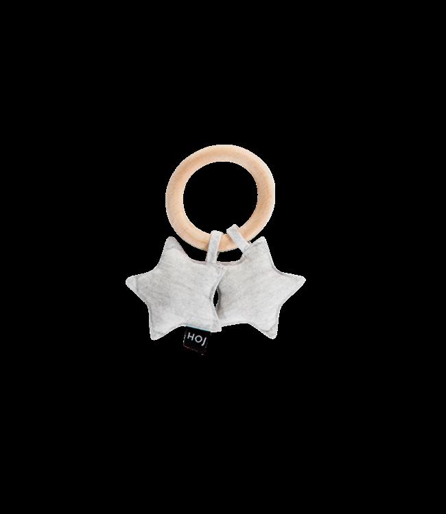House Of Jamie Teething Ring Stars Stone