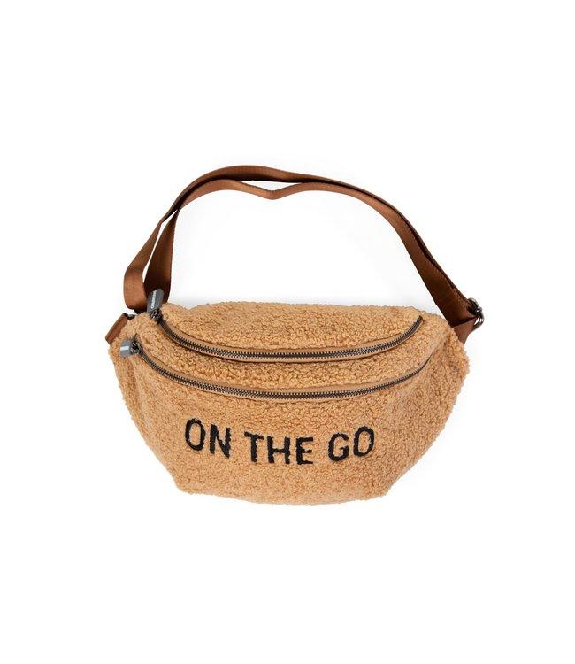 Childhome On The Go Banana Bag Teddy Beige