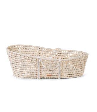 Childhome Moses Basket Soft Cornhusk Naturel + Matras