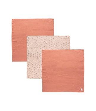 Bébéjou Tetradoek Set 70x70 Fabulous Wish Pink