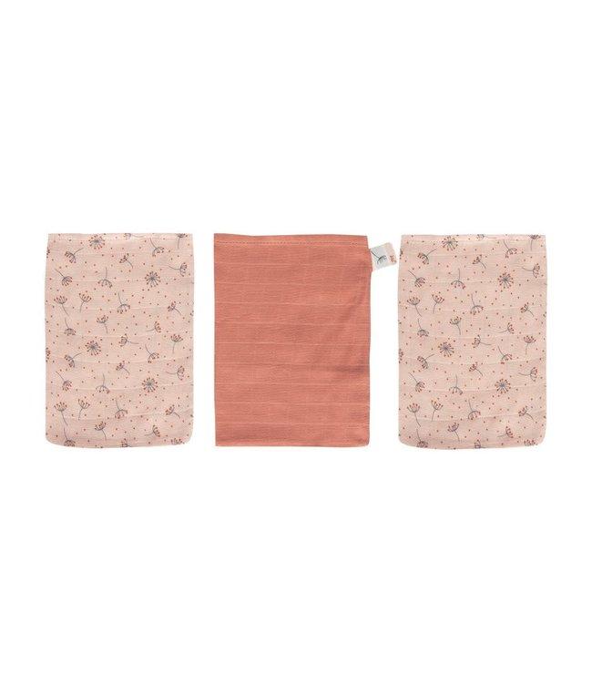 Bébéjou Tetra Washandjes Fabulous Wish Pink