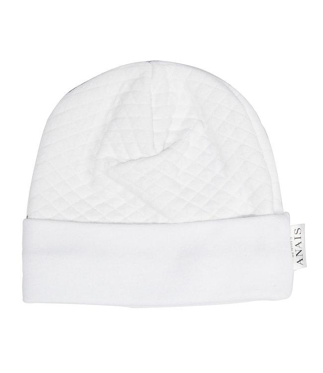Les Rêves d'Anais Newborn Hat Diamond White
