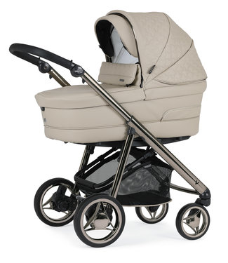 Bébécar V-Pack 3 in 1 Pram Specials 053 Latté Leatherlook