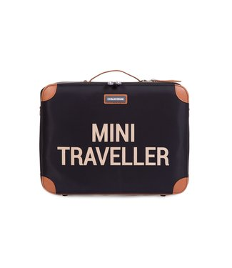 Childhome Mini Traveller Valiesje Black-Gold