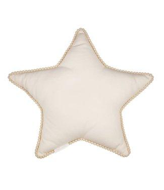 Cotton & Sweets Boho Bubble Star Pillow Vanilla