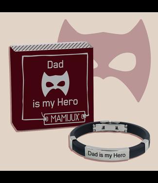 Mamijux M'ami Tag Bracelet Dad Is My Super Hero
