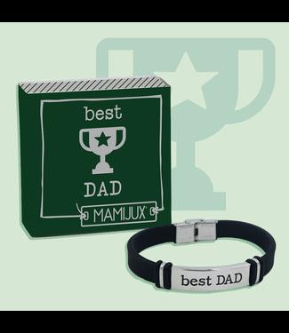 Mamijux M'ami Tag Bracelet Best Dad