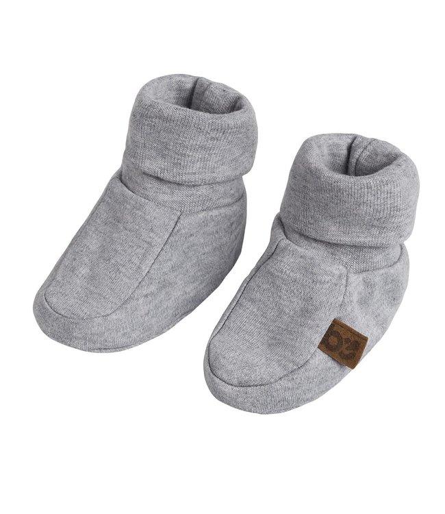 Baby's Only Melange Slofjes Maat 1 Grey