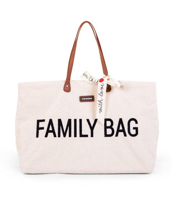 Childhome Family Bag Teddy Ecru