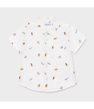 Mayoral White Shirt Tiger