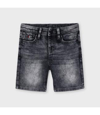 Mayoral Grey Denim Shorts
