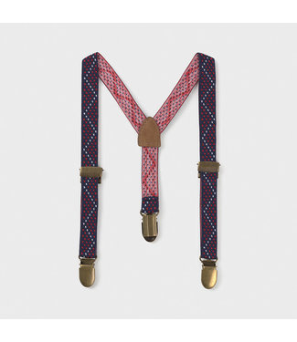 Mayoral Suspenders Red And Blue