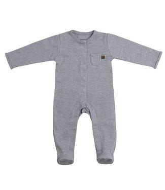 Baby's Only Melange Boxpakje Met Voetjes Grey