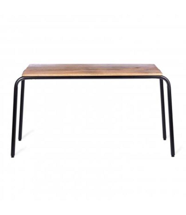 Kidsdepot Original Table Wood - Black Metal