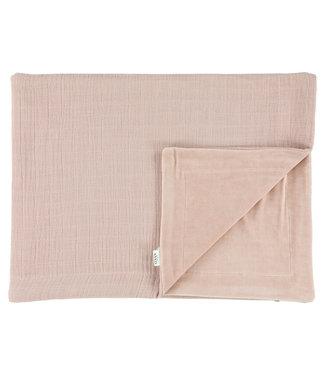 Les Rêves d'Anais Blanket 75x100cm Bliss Rose & Fleece