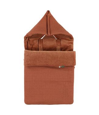 Trixie Duvet Cover & Pillow Case 100x140cm Bliss Rust