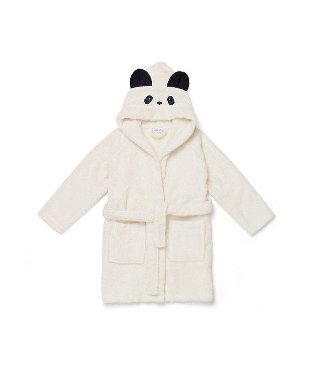 Liewood Lilly Bathrobe Panda Creme De La Creme