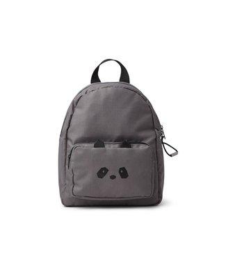 Liewood Allan Backpack Panda Stone Grey