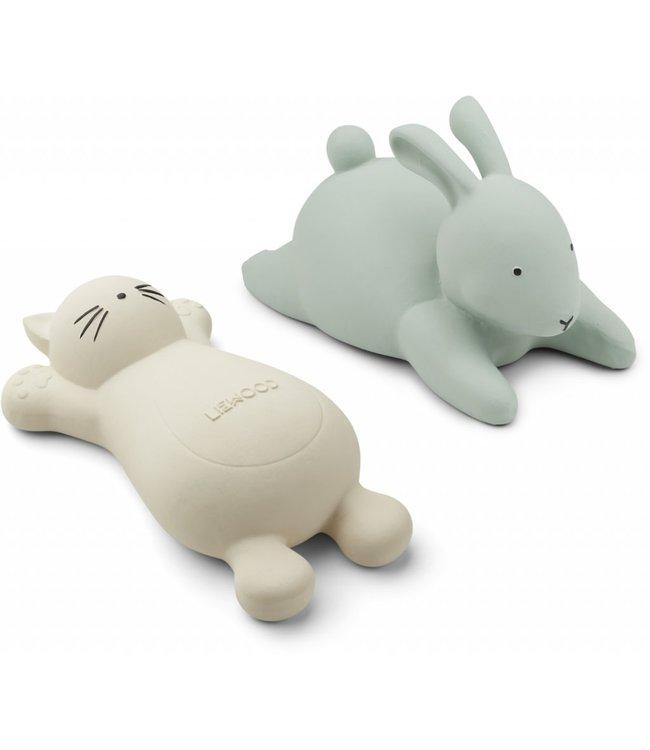 Liewood Vikky Bath Toys 2-Pack Cat Creme de la Creme