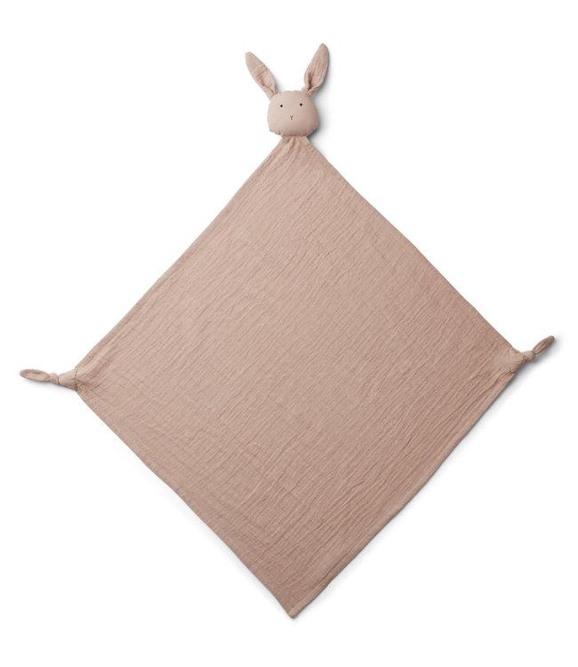Liewood Robbie Multi Muslin Cloth Rabbit Rose