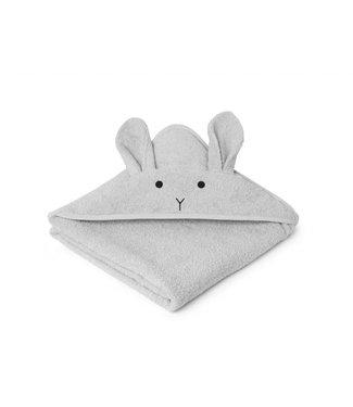 Liewood Augusta Hooded Towel Rabbit Dumbo Grey