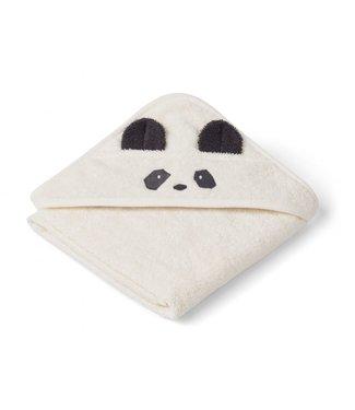 Liewood Augusta Hooded Towel Panda Creme De La Creme