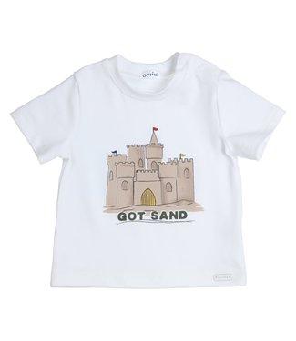 Gymp Tee White Sand Castle
