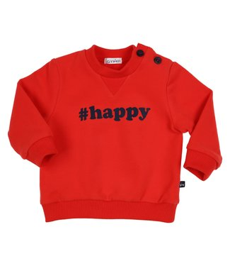 Gymp Sweater Red #Happy