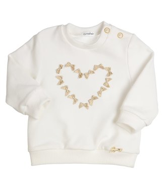 Gymp Off-White Sweater Golden Bow Hart