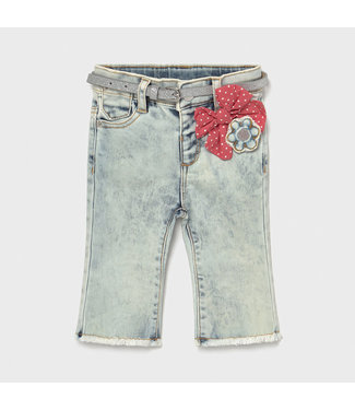 Mayoral Bleached Flared Jeans