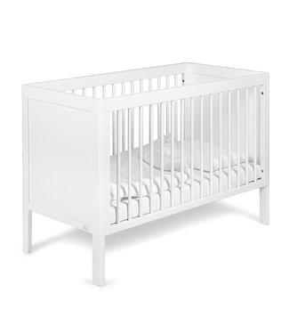 Bed White Satin   60 x 120