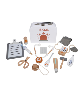 Tryco Wooden Medical Set With Case