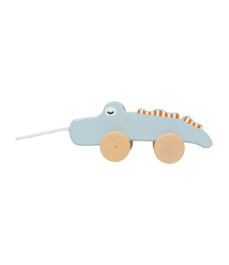 Tryco Wooden Pull-Along Toy Crocodile