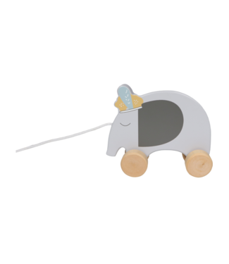 Tryco wooden Pull-Along Toy Elephant