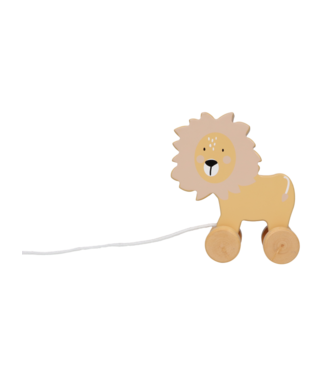 Tryco Wooden Pull-Along Toy Lion