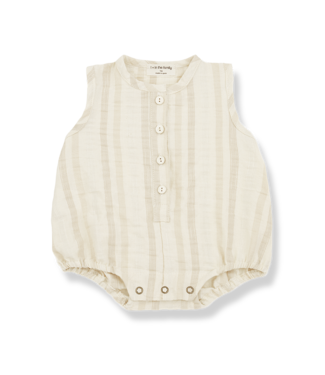 1+InTheFamily Simon Romper Natural