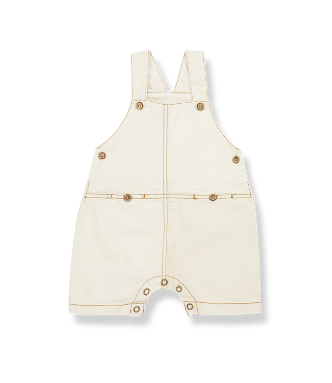 1+InTheFamily Guille Dungaree Natural
