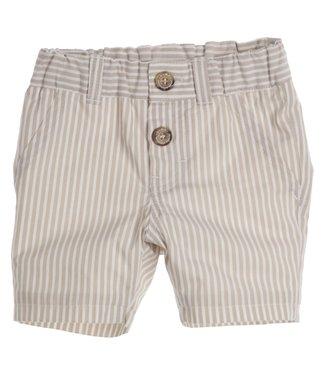 Gymp Short Beige White Stripes