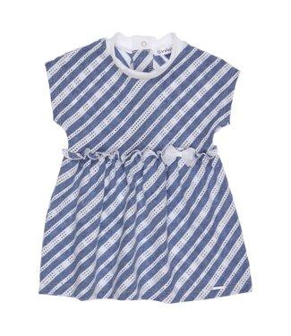 Gymp Dress Blue White Stripes