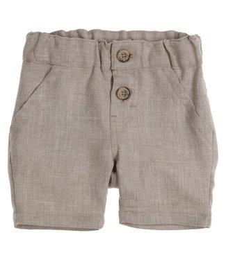 Gymp Linen Shorts Beige