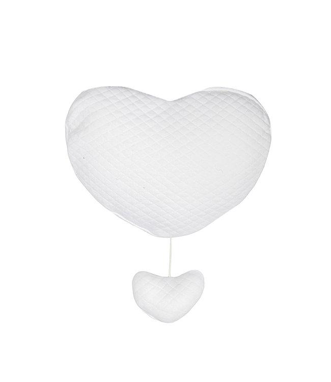 Trixie Musical Heart Diamond White