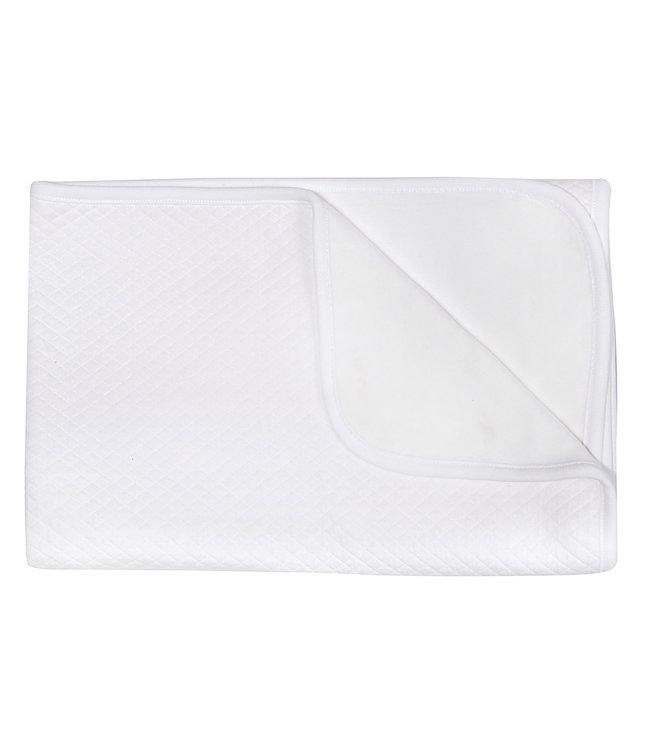 Les Rêves d'Anais Blanket 75x100cm Diamond White & Fleece