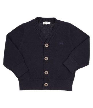 Gymp Knitted Cardigan Marine