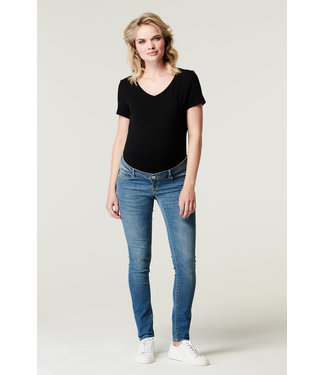 Supermom Skinny Jeans Washed Blue