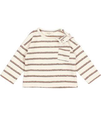 Buho Popeye Sweater Navy Stripes Cocoa