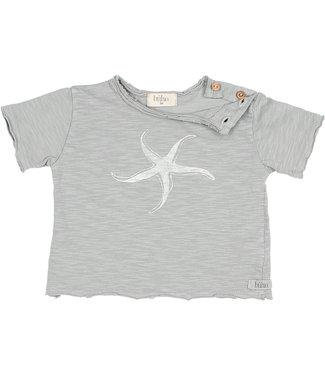 Buho Cesar Baby Starfish Tee Cloud