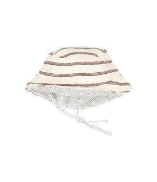 Buho Bob Navy Hat Cocoa